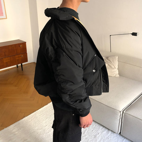 REPAIRED BOMBER JACKET