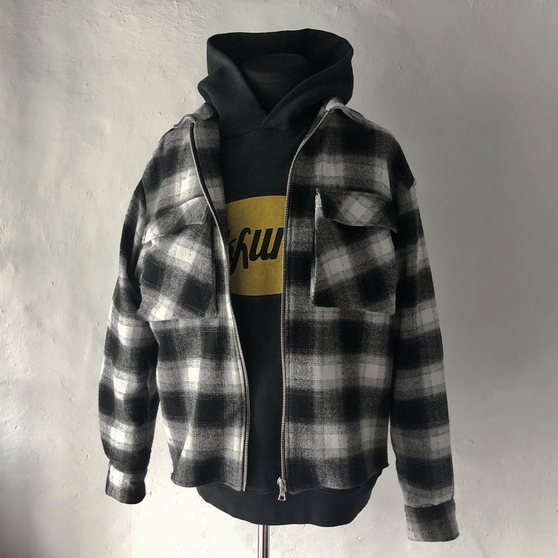 ZIP UP FLANNEL