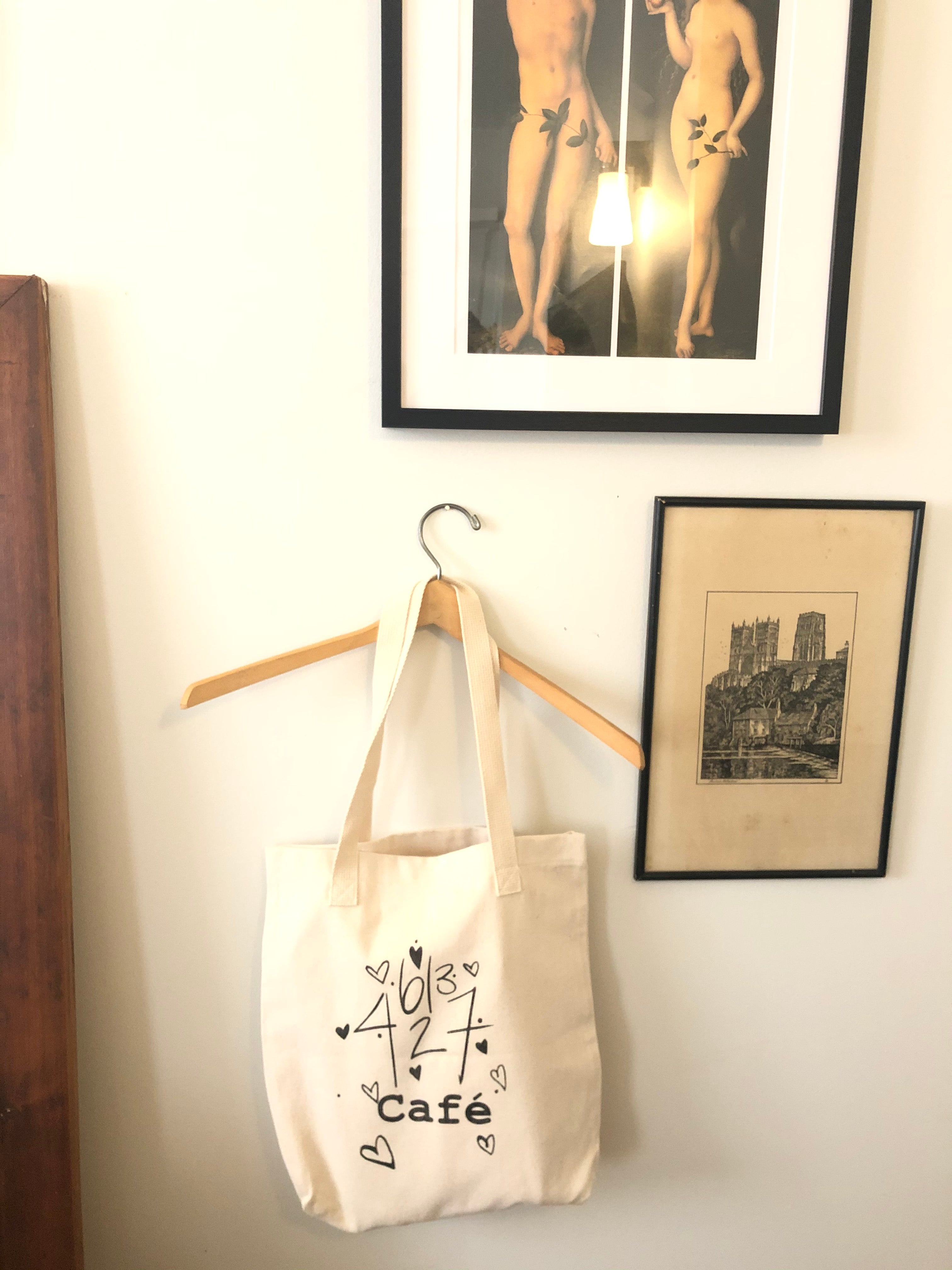 Café Sucré ''Parlez-nous'' ''Talk to me'' Tote Bag (Limited Prints)