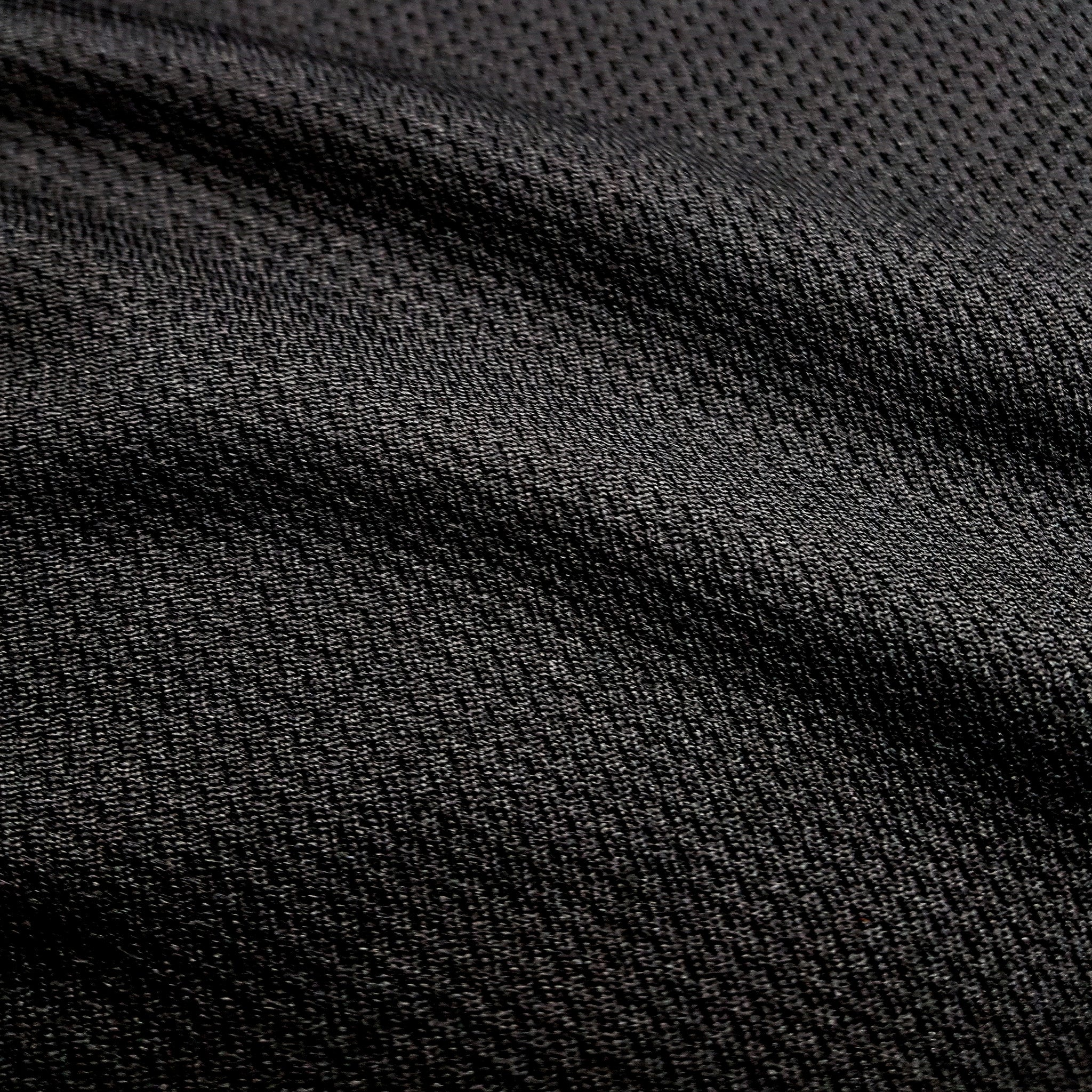 SportyFish Black Series black Long-sleeves t-shirt: Peacock Bass close-up view 5