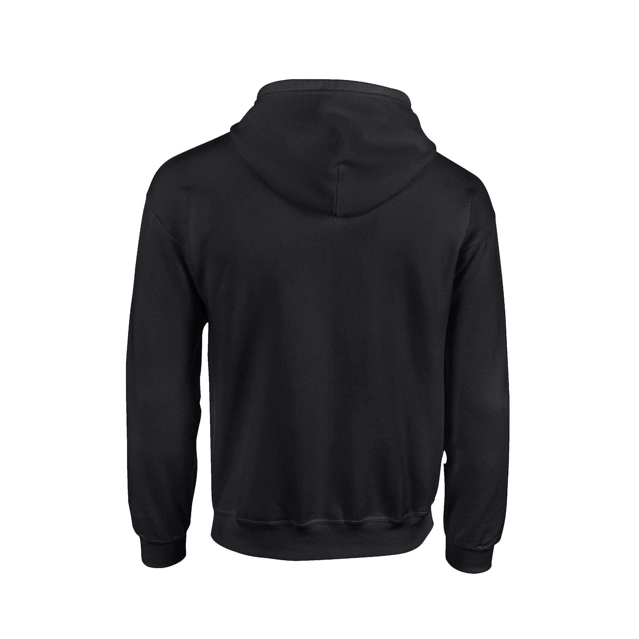 SportyFish Black Series black hoodie: Grouper back view