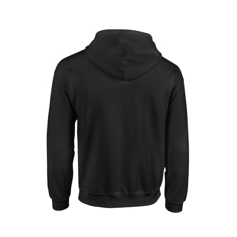 SportyFish Black Series black hoodie: Black Marlin back view