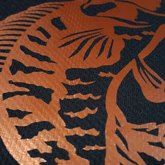 SportyFish Black Series black t-shirt: Toman close-up view 2