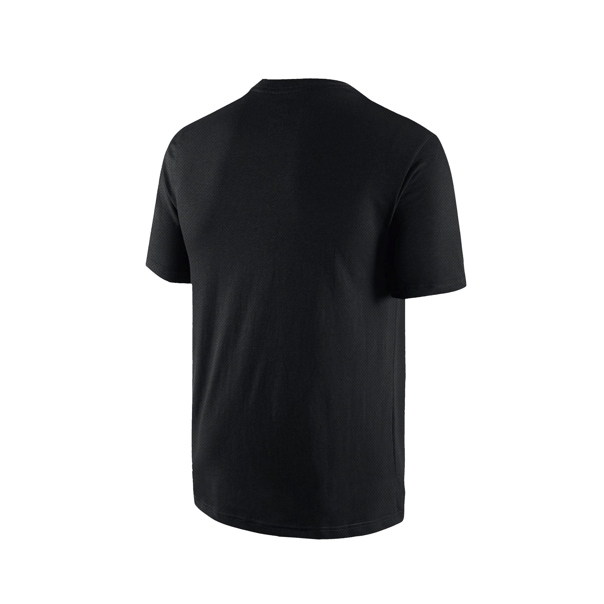 SportyFish Black Series black t-shirt: Black marlin back view