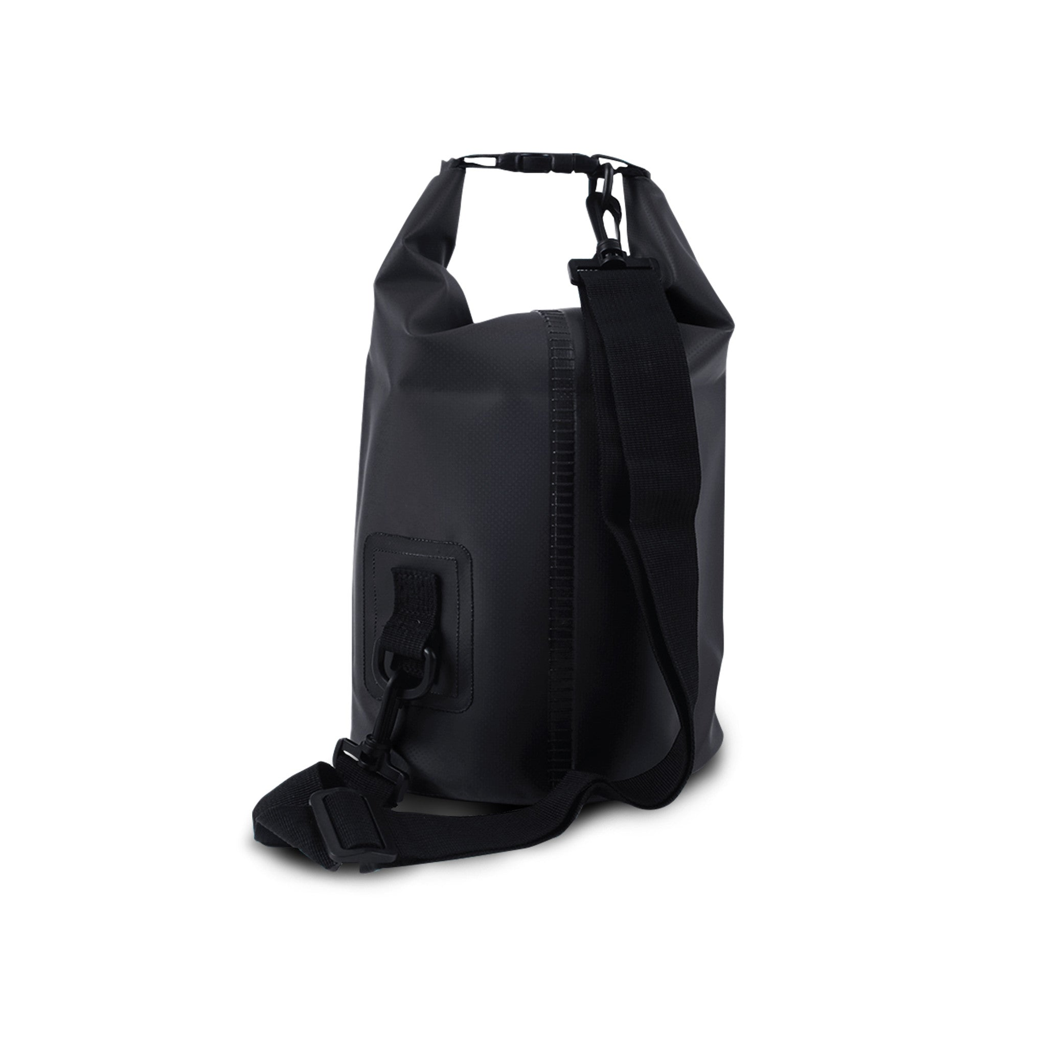 SportyFish Dry Tube Bag: Black Marlin back view
