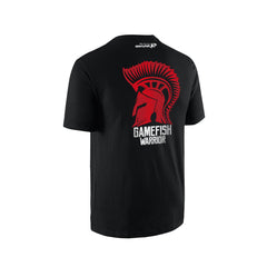 SportyFish GameFish Warrior Series T-shirt(back view): The Fin