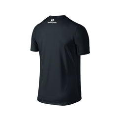 SportyFish Fury Series Black T-shirt: Black Marlin back view
