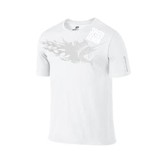 SportyFish Fury Series White T-shirt: Atlantic Sailfish front view2