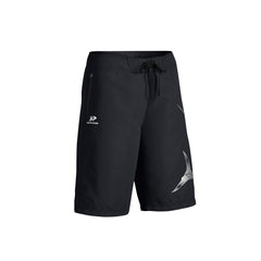 SportyFish Fury Series Board Shorts: Atlantic Sailfish front view2