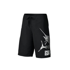 SportyFish Fury Series Board Shorts: Atlantic Sailfish