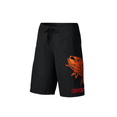 SportyFish Fury Series Board Shorts: Yellowfin Tuna