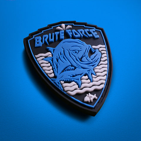 SportyFish Giant Trevally PVC Gamefish Badge