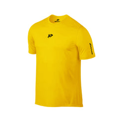 SportyFish Ink Series Yellow T-shirt: Yellowfin Tuna front view