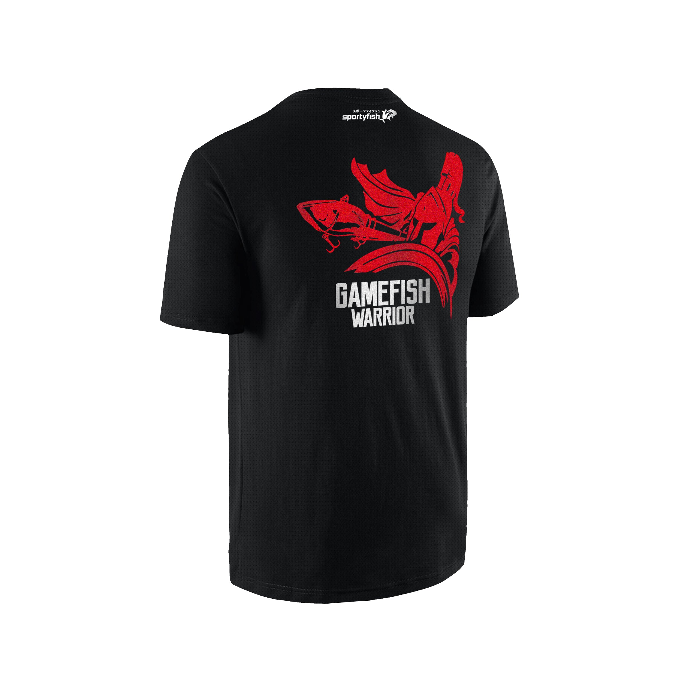 SportyFish GameFish Warrior Series T-shirt(back view): The Lure
