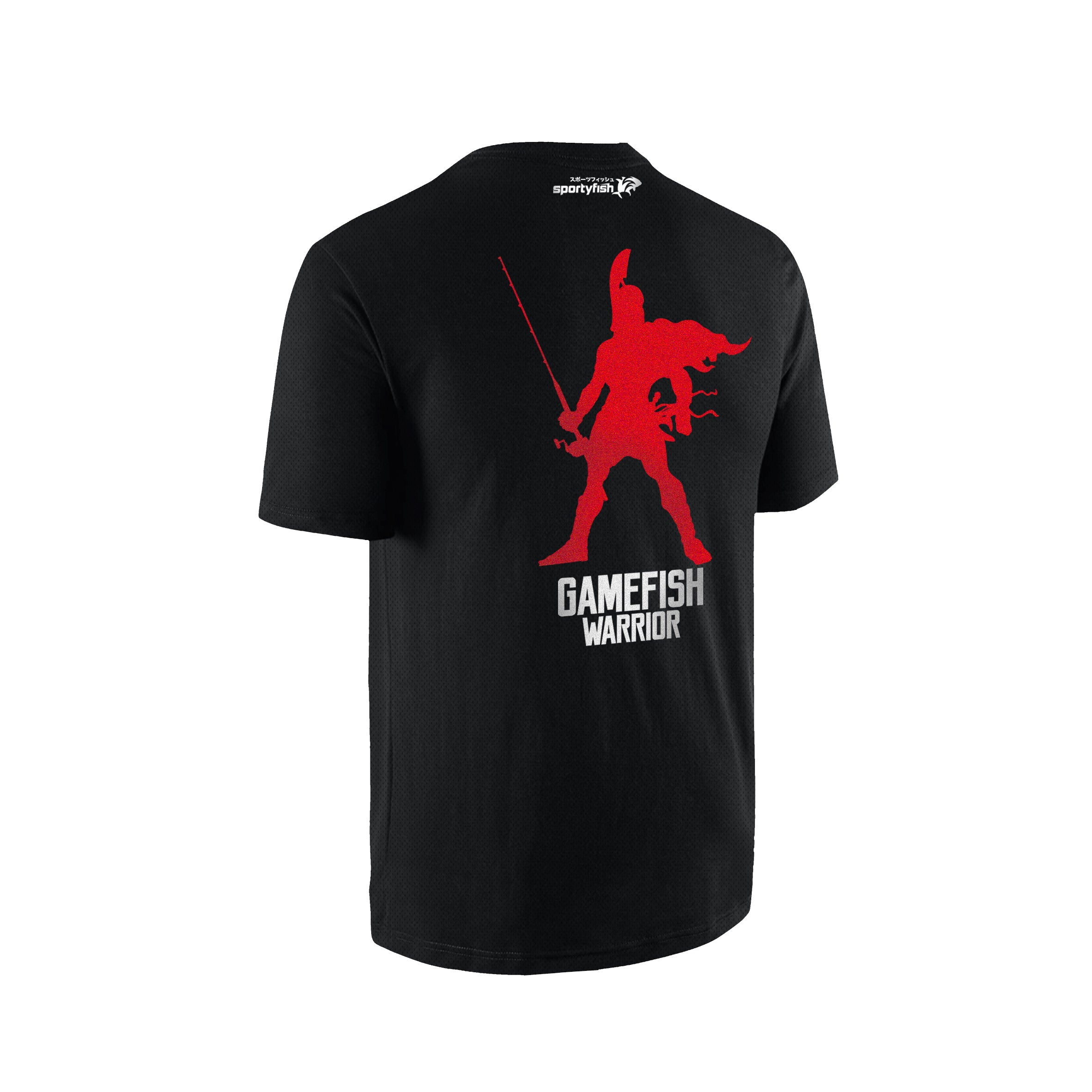 SportyFish GameFish Warrior Series T-shirt(back view): The Rod