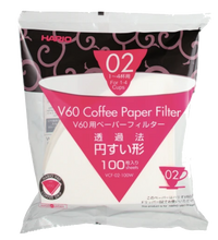 Load image into Gallery viewer, Hario V60 Coffee Dripper Paper Filters