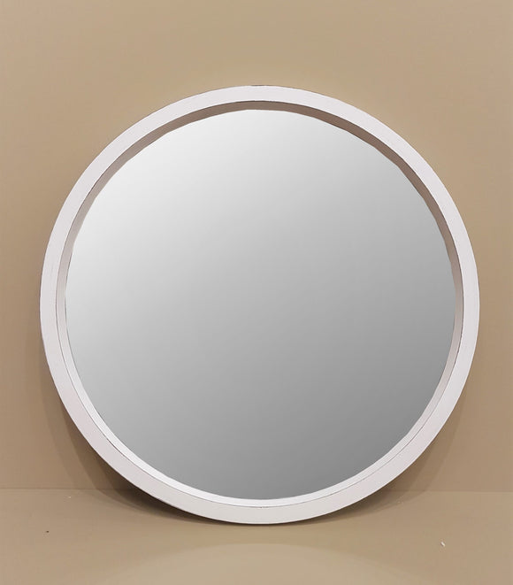 Bush Grey Round Mirror