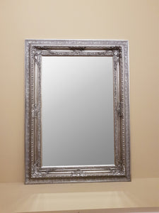 Distressed antique Silver Mirror