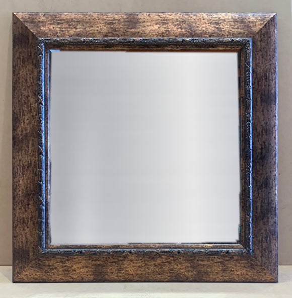 Bronze Square Mirror