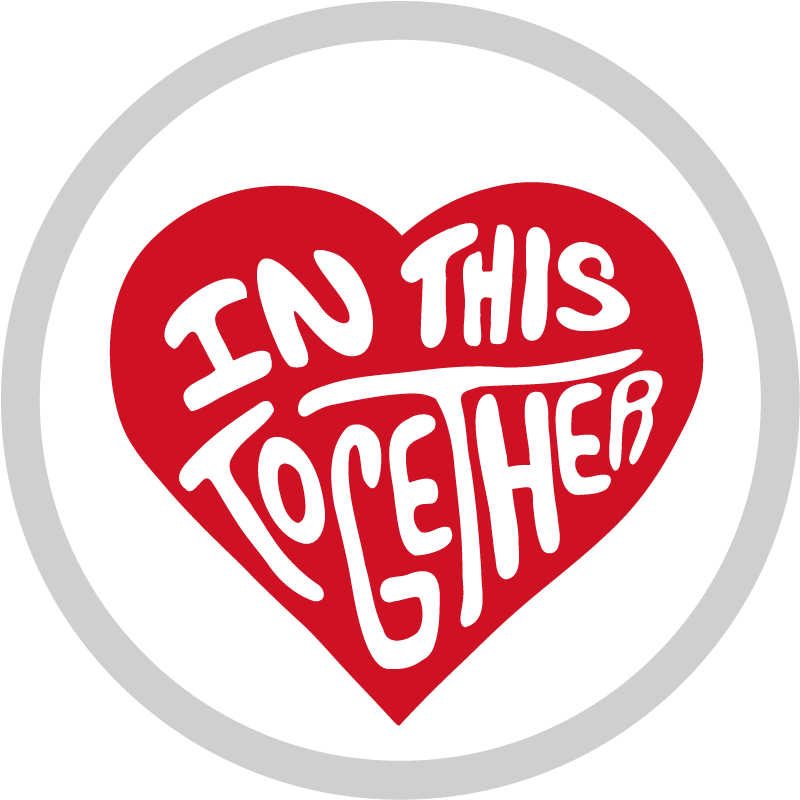 In This Together Sticker