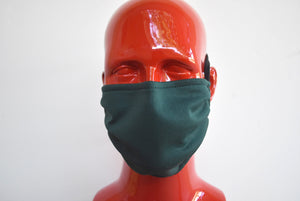 Double-Strap Forest Green Mask Small/Med