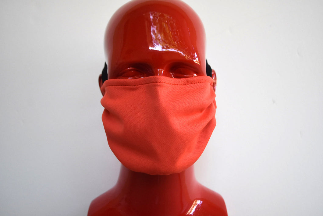 Double-Strap Orange Mask Small/Med