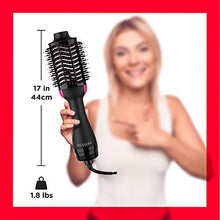Load image into Gallery viewer, REVLON One-Step Hair Dryer And Volumizer Hot Air Brush, Black, Packaging May Vary