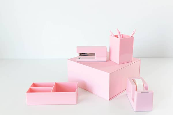 Desk Set- Blush Pink