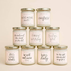 soy candles made in USA