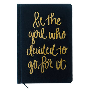 Girl Who Decided to Go For It- Journal