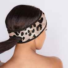 Load image into Gallery viewer, Microfiber Spa Headband - Leopard