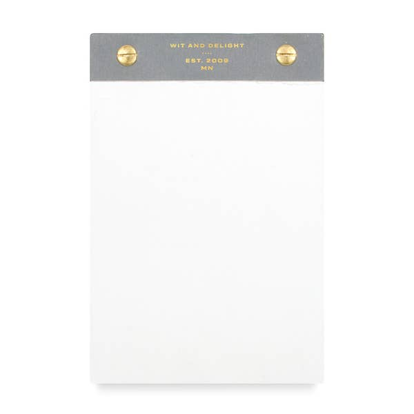 Desktop Notepad- Grey