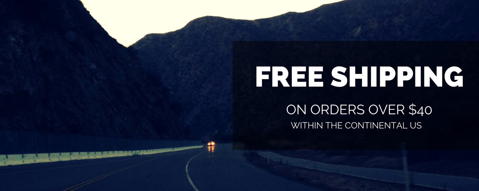 FREE SHIPPING OVER $40