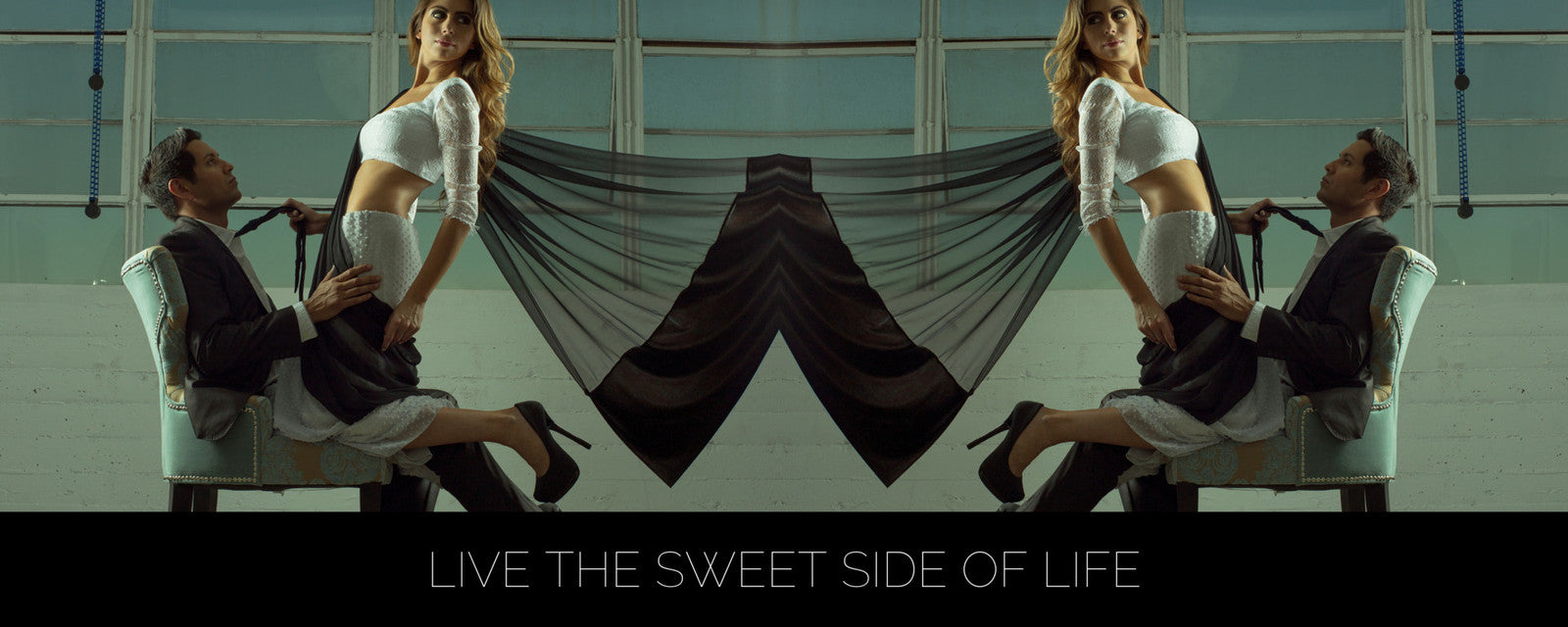 LIVE THE SWEET SIDE OF LIFE