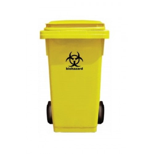 2 Wheel 120L Medical Bin