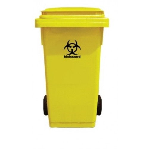 2 Wheel 240L Medical Bin
