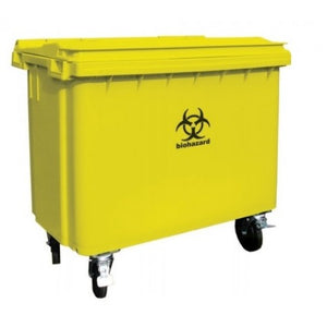 4 Wheel 660L Medical Bin