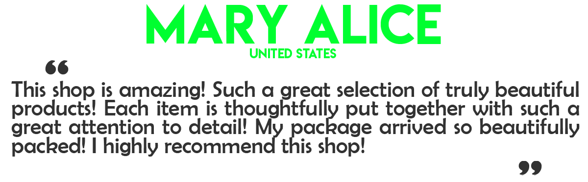 Mary Alice Review