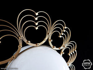 Gold Heart Crown