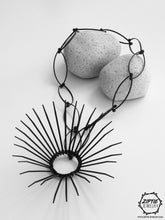 Load image into Gallery viewer, Long Spike Pendant Necklace