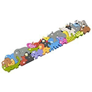 Animal Parade A to Z Puzzle 22in