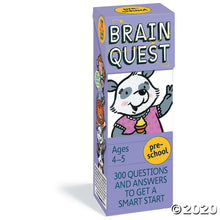 Load image into Gallery viewer, Brain Quest Preschool, revised 4th edition: 300 Questions and Answers to Get a Smart Start (Brain Quest Decks)