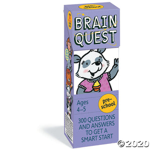 Brain Quest Preschool, revised 4th edition: 300 Questions and Answers to Get a Smart Start (Brain Quest Decks)