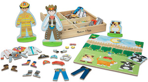 Occupations Magnetic Pretend Play
