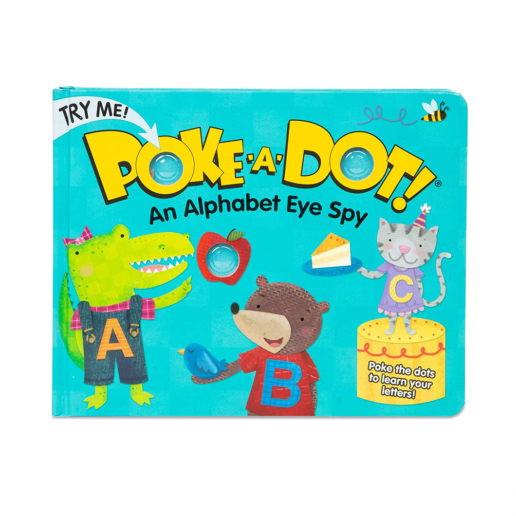 Poke A Dot Book Alphabet Eye Spy