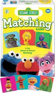 Sesame Street Matching for Boys & Girls Age 3 to 5 - A Fun & Fast Muppet Memory Game