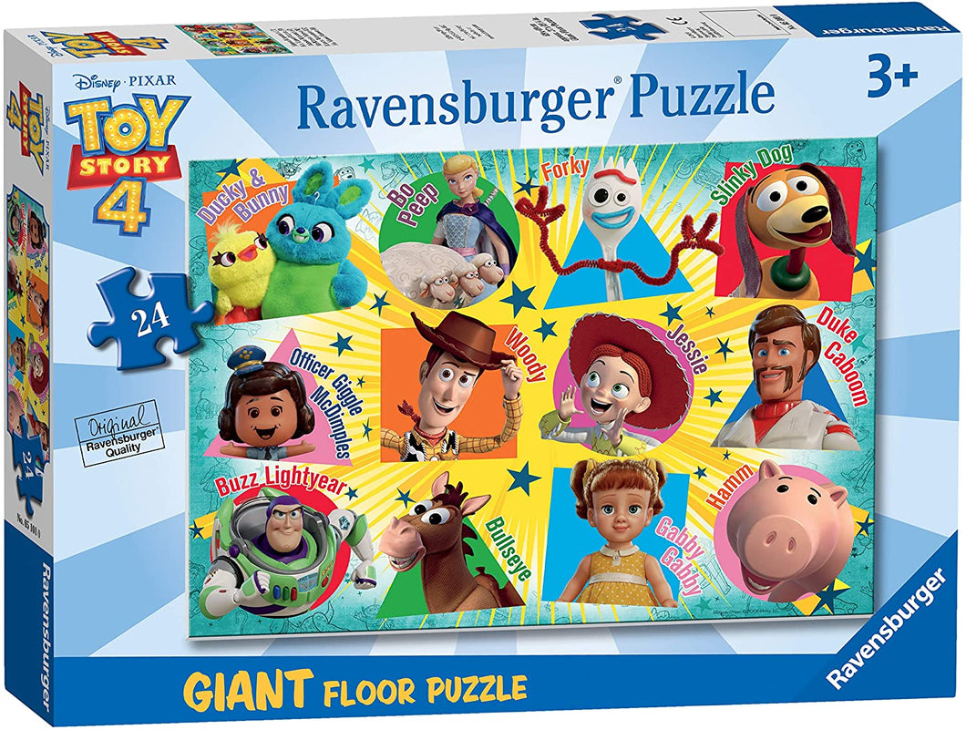 Toy Story 4-24 Piece Giant Floor Jigsaw Puzzle for Kids