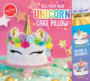 Sew Your Own Unicorn Cake Pillow