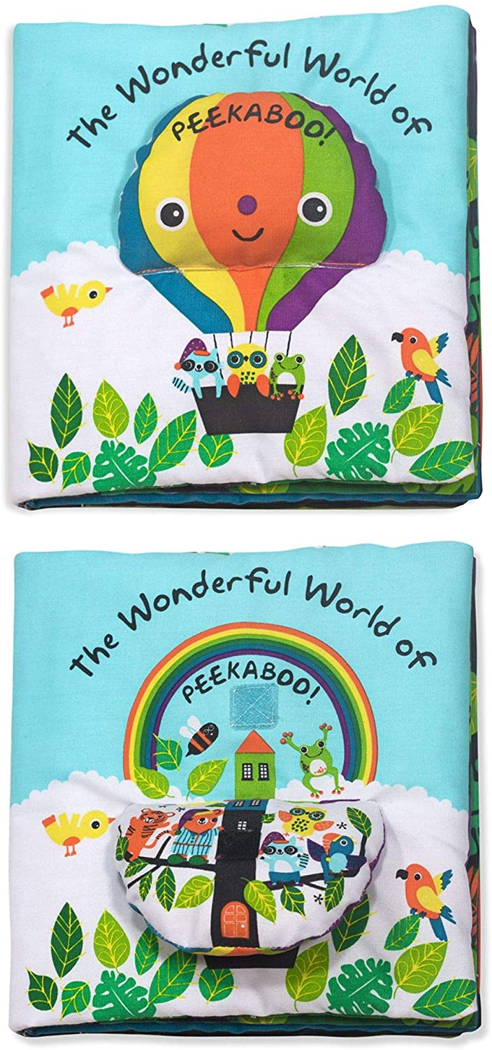 The Wonderful World Of Peekaboo Soft Activity Book