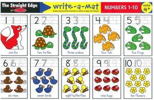 Numbers 1-10 Write-A-Mat